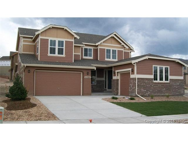 One of Colorado Springs 4 Bedroom Mountain View Homes for Sale