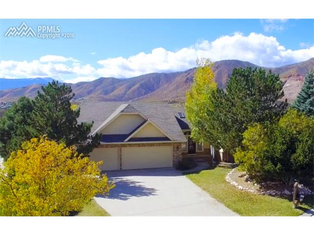 1995 Hunters Point Lane, Air Force Academy Mountain View for Sale